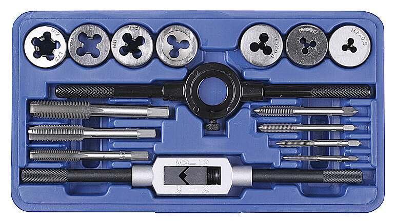 Набор резьбонарезной PROFI (16 предметов)Ручной инструмент<br><br>