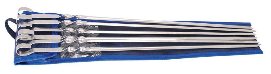 Набор шампуров в чехле (6 шт.)Ручной инструмент<br><br>