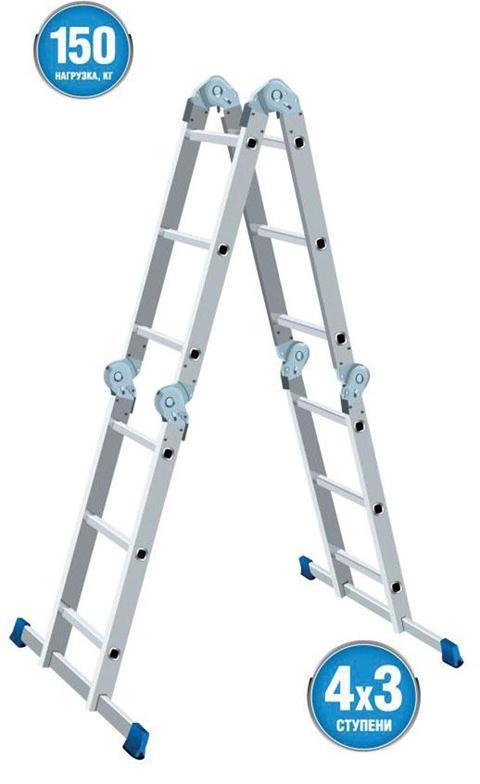 Лестница-трансформер 4х3Ручной инструмент<br><br>