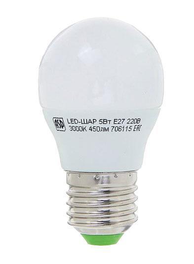 Лампа светодиодная (Е27, 5 Вт)Ручной инструмент<br><br>